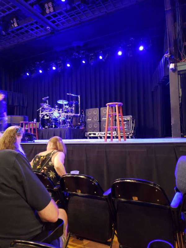 Hampton Beach Casino Ballroom, section: Center 1, row: CC, seat: 8