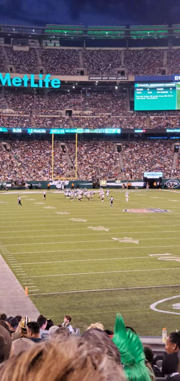 MetLife Stadium, section: 129, row: 21, seat: 14
