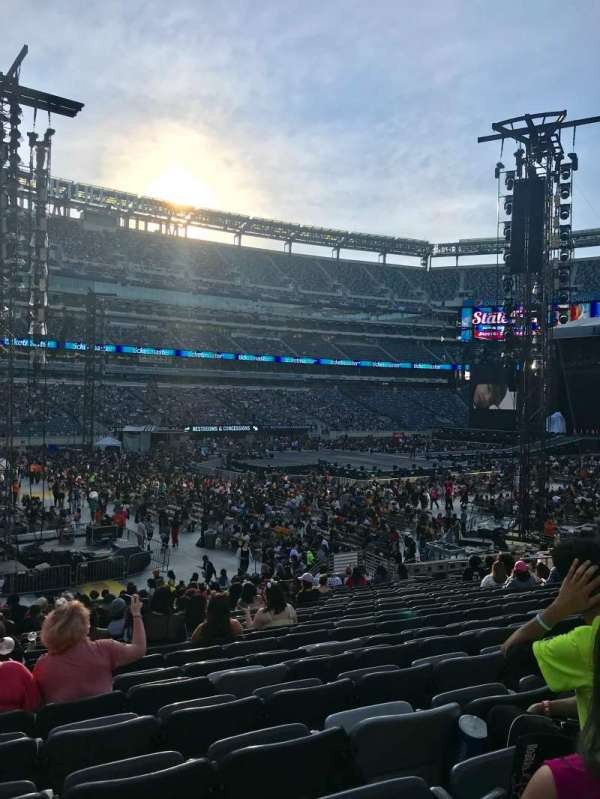 MetLife Stadium, section: 117, row: 21, seat: 22