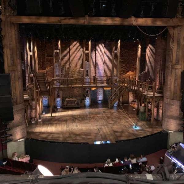CIBC Theatre, section: Mezzanine LC, row: A, seat: 307
