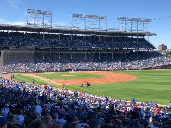 Wrigley Field, section: 231, row: 13, seat: 10
