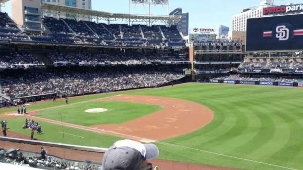 PETCO Park, section: 215, row: 2, seat: 2