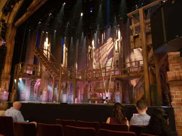 Richard Rodgers Theatre, section: Orchestra R, row: D, seat: 14