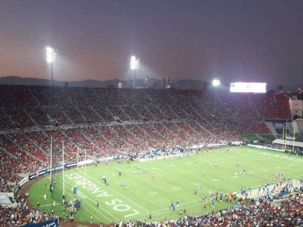 Los Angeles Memorial Coliseum, section: 310B, row: 16, seat: 15