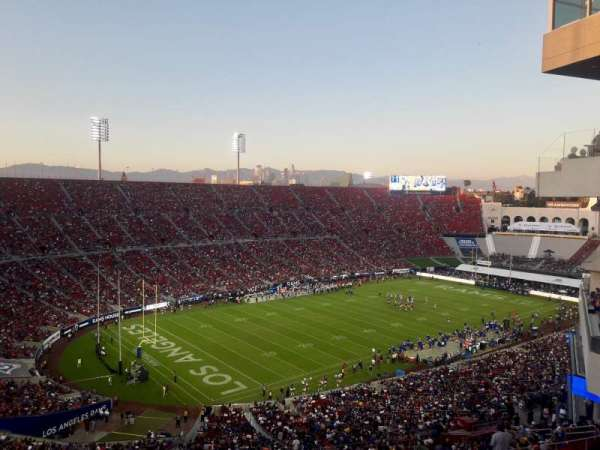 Los Angeles Memorial Coliseum, section: 310B, row: 16, seat: 17