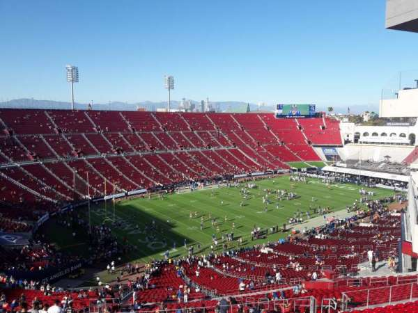 Los Angeles Memorial Coliseum, section: 310B, row: 14, seat: 15