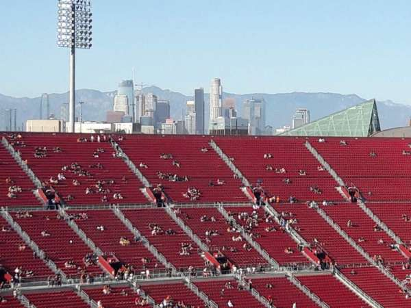 Los Angeles Memorial Coliseum, section: 310B, row: 22, seat: 15