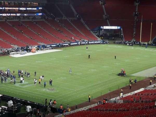 Los Angeles Memorial Coliseum, section: 327, row: 1, seat: 39
