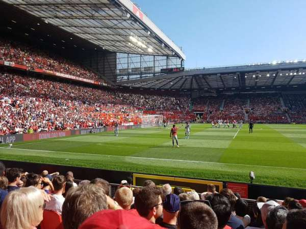 Old Trafford, section: N1404, row: KK, seat: 227