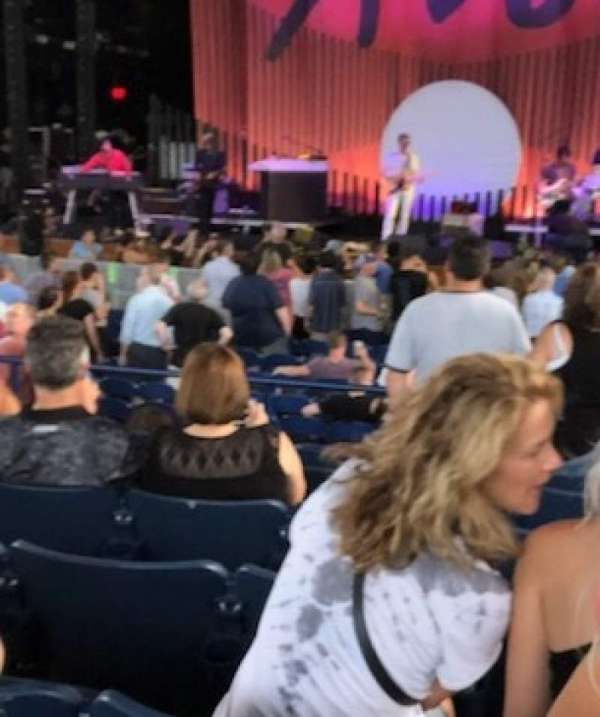 Merriweather Post Pavilion, section: 200, row: F, seat: 3