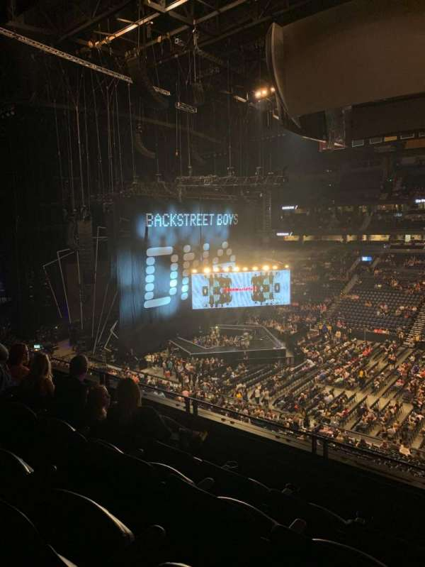 Bridgestone Arena, section: 217, row: G, seat: 3
