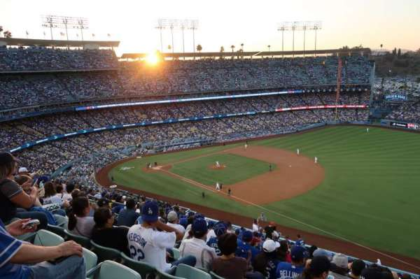 Dodger Stadium, section: 36RS, row: V, seat: 14