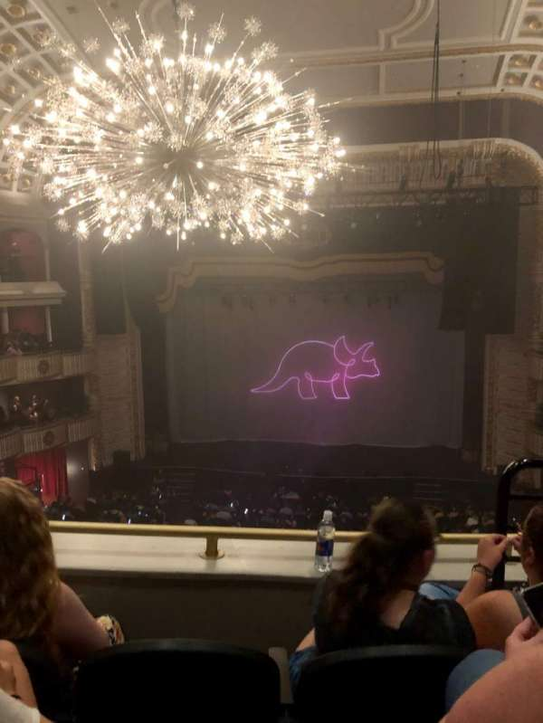 The Met Philadelphia, section: LOGE 3, row: C, seat: 2