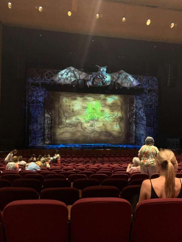 San Jose Center For The Performing Arts, section: Orchestra L, row: 18, seat: 20