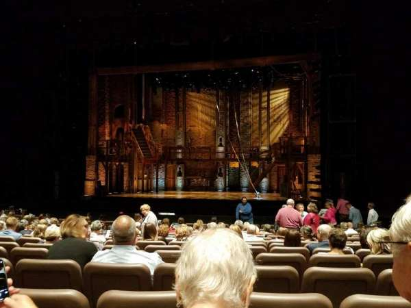 Chapman Music Hall - Tulsa Performing Arts Center, section: Orchestra, row: P