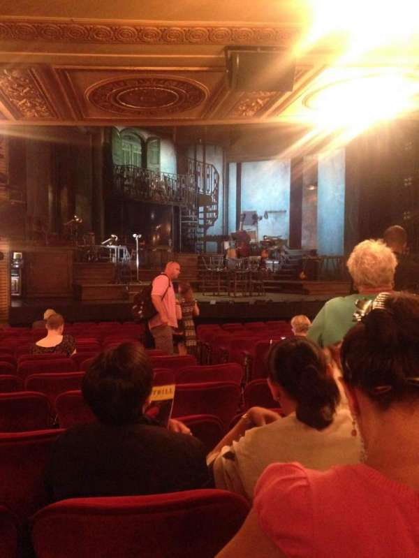 Walter Kerr Theatre, section: Orchestra L, row: R, seat: 11
