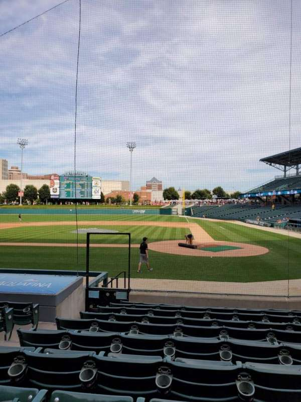 Victory Field, section: 110, row: M, seat: 12