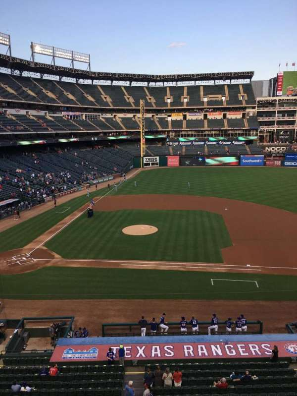 Globe Life Park in Arlington, section: 233, row: 1, seat: 1