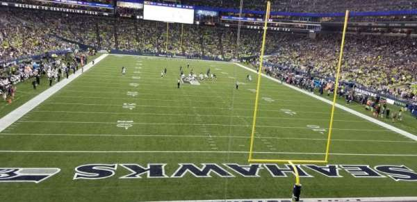 CenturyLink Field, section: 150, row: K, seat: 7