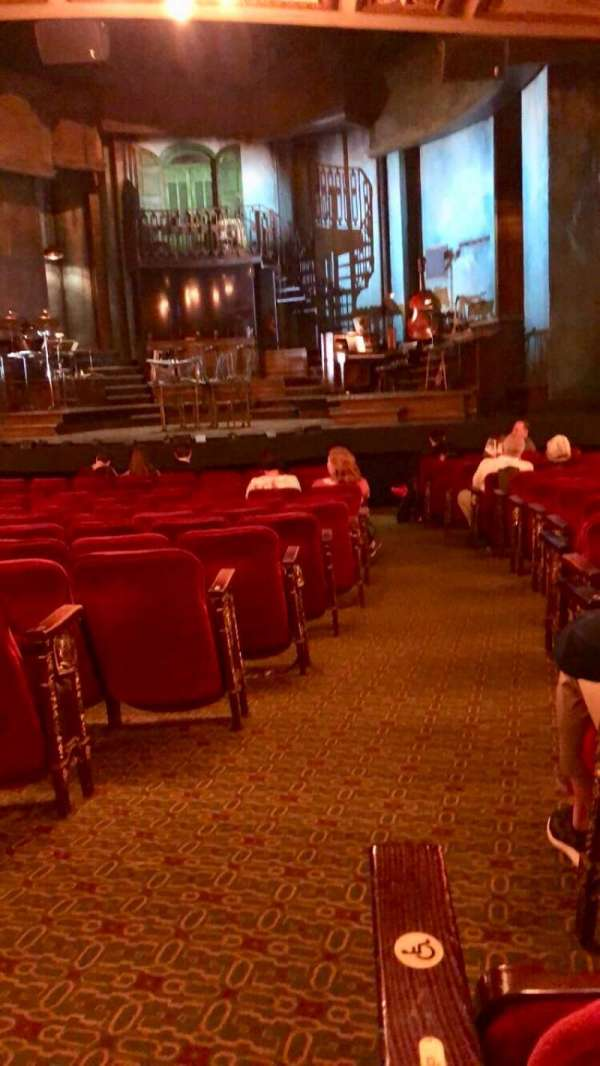 Walter Kerr Theatre, section: Orchestra C, row: Q