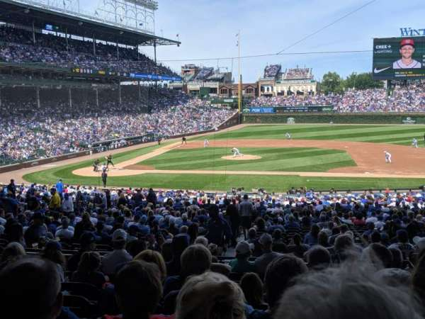 Wrigley Field, section: 223, row: 9, seat: 12