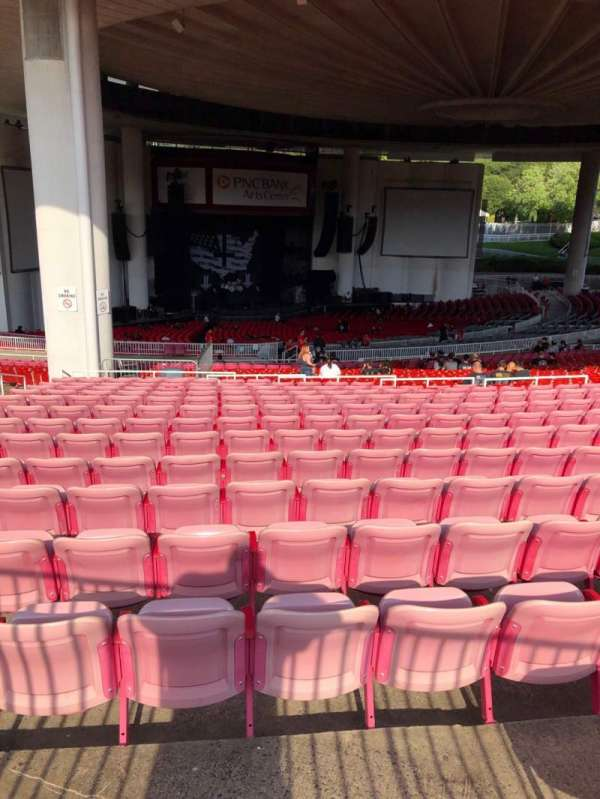 PNC Bank Arts Center, section: Lawn