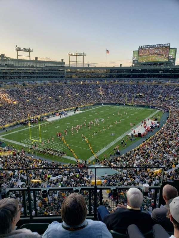 Lambeau Field, section: 639s, row: 4, seat: 9