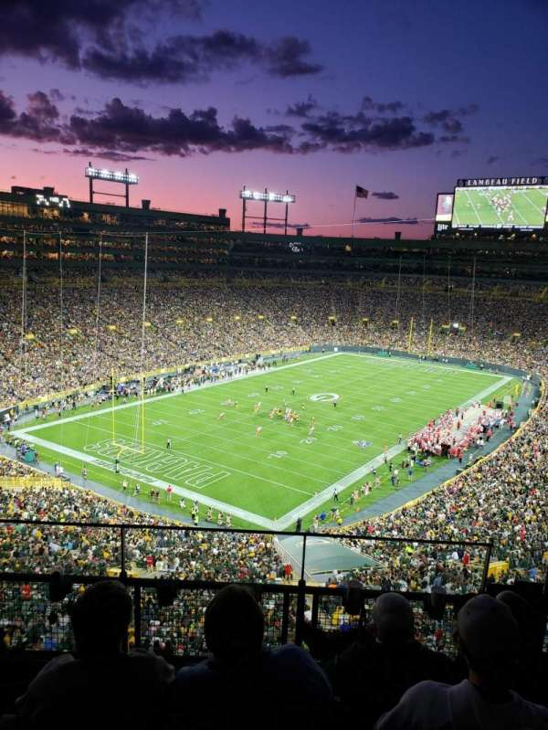 Lambeau Field, section: 639s, row: 4, seat: 10