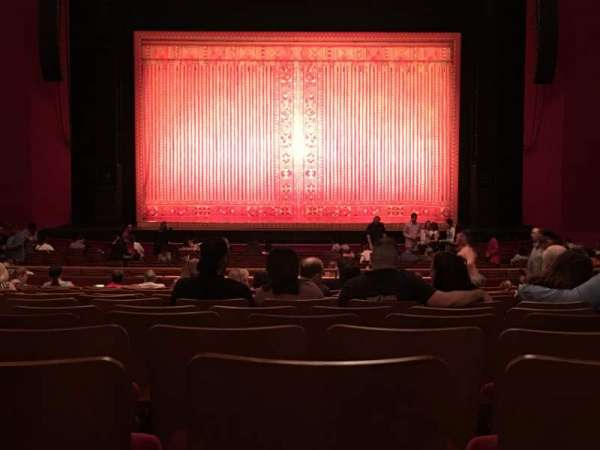 The Kennedy Center Opera House, section: Orchestra, row: EE, seat: 116
