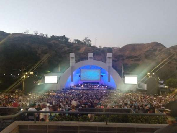 Hollywood Bowl, section: M1, row: 4, seat: 27