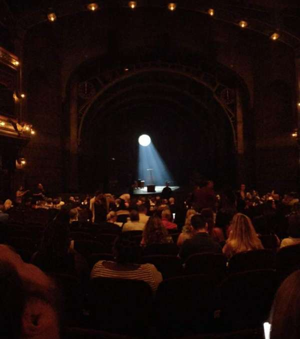 Lyric Theatre, section: Orchestra L, row: S, seat: 9