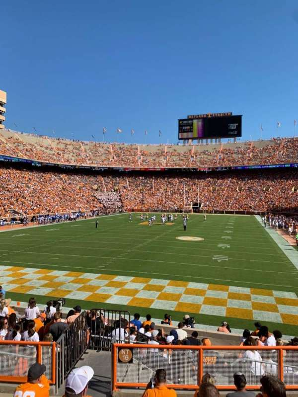 Neyland Stadium, section: Y6, row: 9, seat: 9