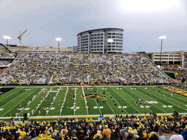 Kinnick Stadium, section: 127, row: 63, seat: 19