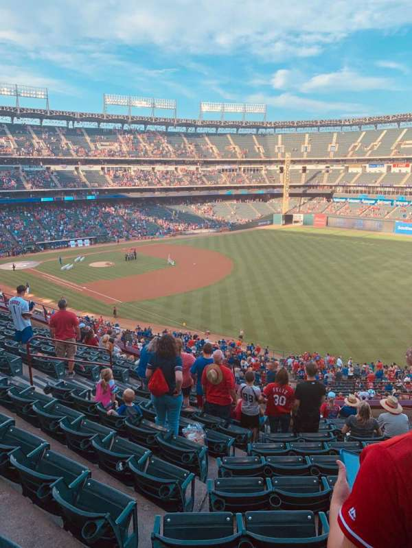 Globe Life Park in Arlington, section: 240, row: 12, seat: 10