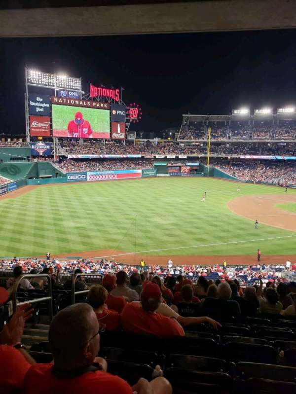 Nationals Park, section: 204, row: M, seat: 24