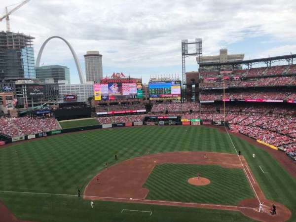 Busch Stadium, section: 355, row: 2, seat: 10
