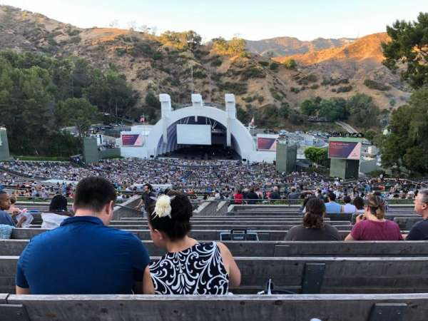 Hollywood Bowl, section: Q1, row: 16, seat: 51