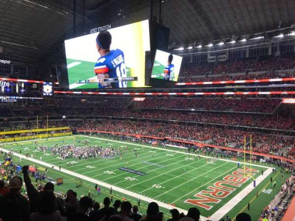 AT&T Stadium, section: 304, row: 7, seat: 7