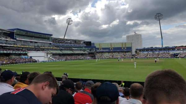 Edgbaston Cricket Ground, section: 24, row: M, seat: 1