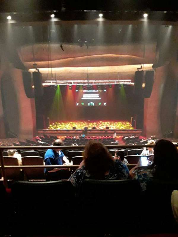 The Grand Theater at Foxwoods, section: Mezzanine  Center, row: J, seat: 208