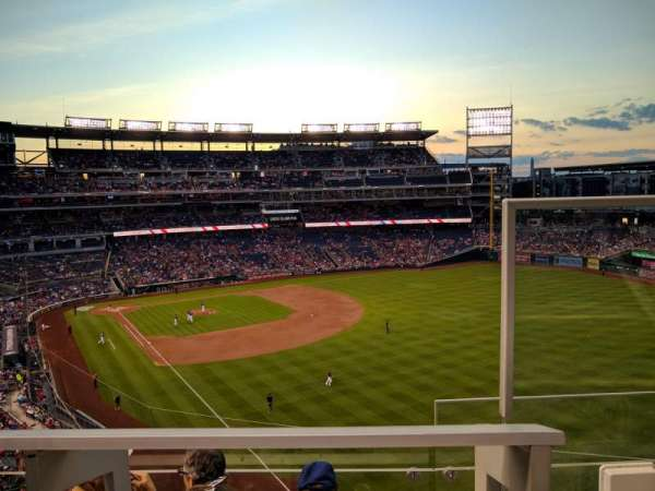 Nationals Park, section: 230, row: D, seat: 1