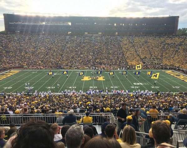Michigan Stadium, section: 1, row: 83, seat: 13