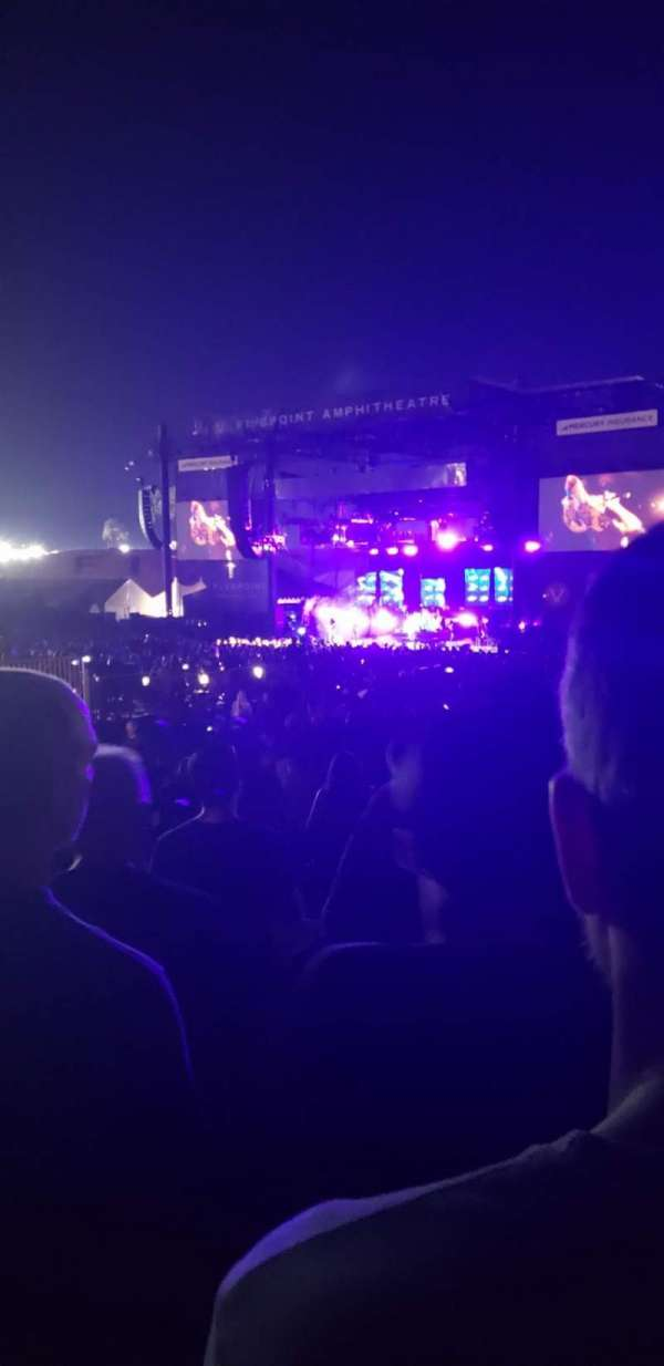 FivePoint Amphitheater, section: Terrace 302, row: 8, seat: 8