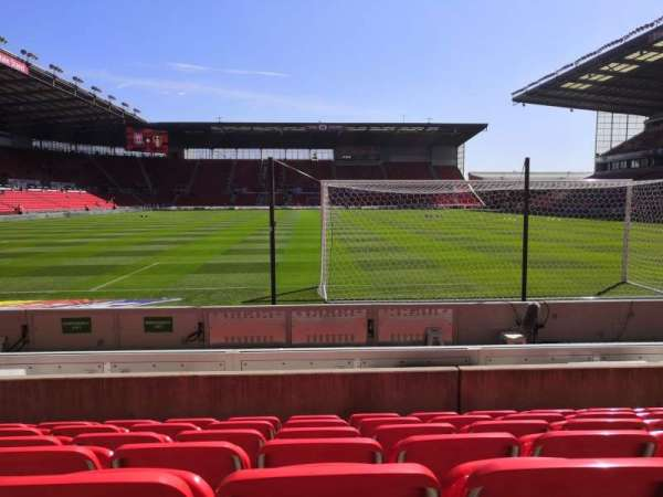 bet365 Stadium, section: 22, row: 7, seat: 329