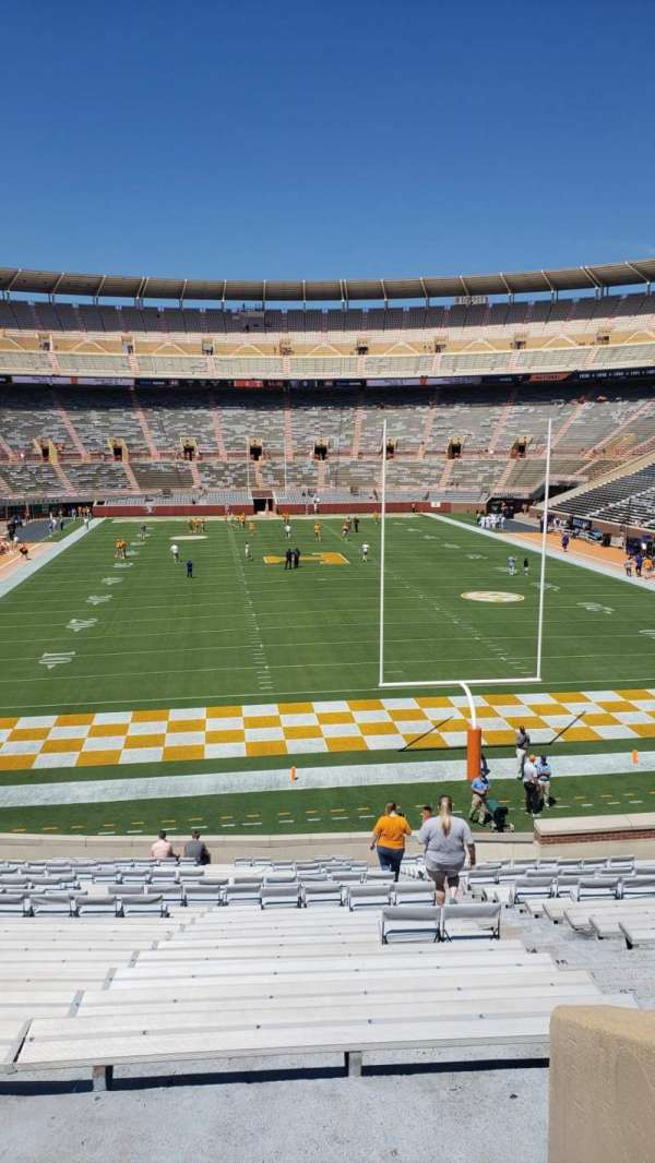 Neyland Stadium, section: M, row: 33, seat: 2
