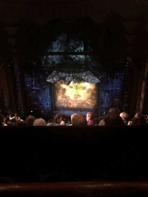 Apollo Victoria Theatre, section: Dress Circle, row: P, seat: 15