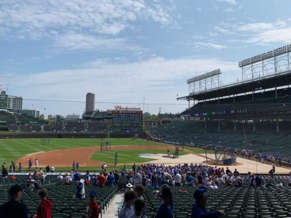 Wrigley Field, section: 212, row: 5, seat: 14