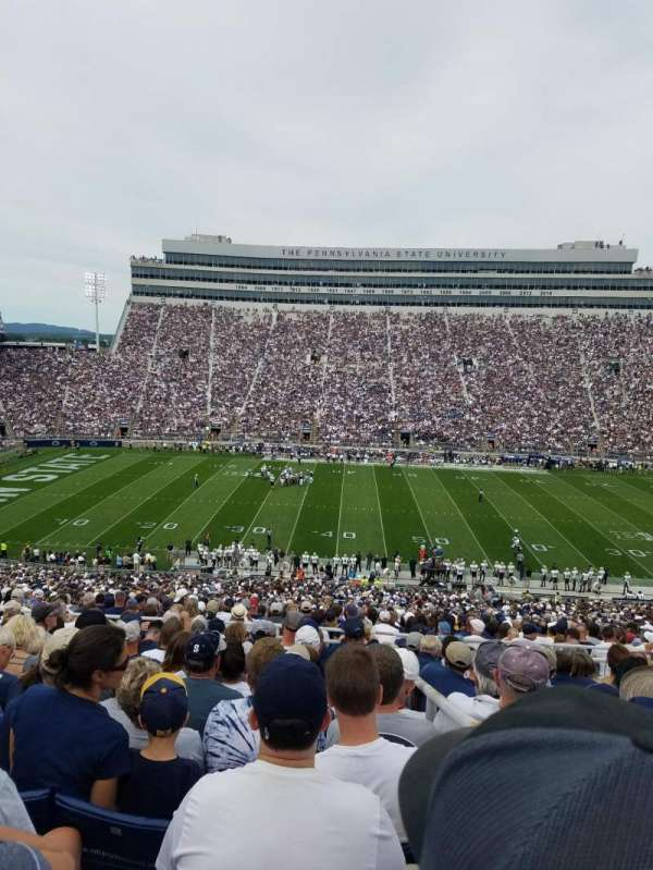Beaver Stadium, section: WFU, row: 53, seat: 31