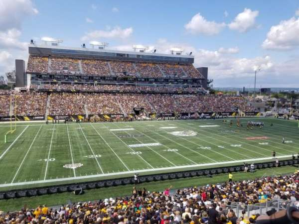 Tim Hortons Field, section: 217, row: 1, seat: 20