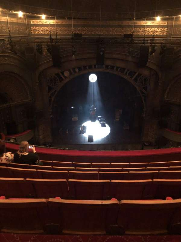 Princess Theatre (Melbourne), section: Grand Circle, row: G, seat: 19